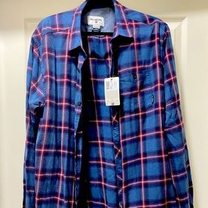 Billabong warm button down shirt